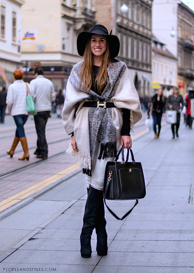 Chilly Autumn Street Style People Styles