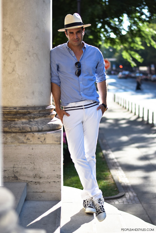Men's Style with Panama Hat – People & Styles