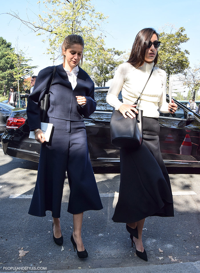 2 Perfect Wear to Work Outfits: Culottes and Midi Skirt
