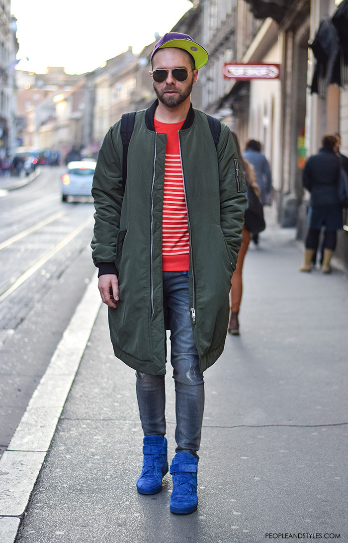 How To Wear Bomber Jacket Mens - JacketIn