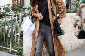 Styling: Loafers, Jeans and Kimono