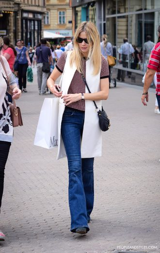 Street Style: 25 Summer Outfit Inspirations #streetstyle #outfit #summer