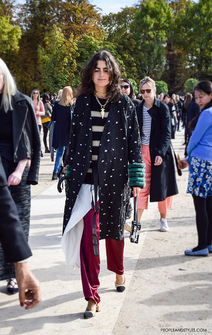 Leandra Medine, Man Repeller, wearing Chanel Granny Slingbacks, They are Wearing Chanel Granny Slingbacks. Street style outfits from Paris Fashion Week, Pinterest, paris people street images