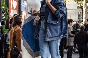 Denim Jacket - Stylish Spring Look by PeopleandStyles.com