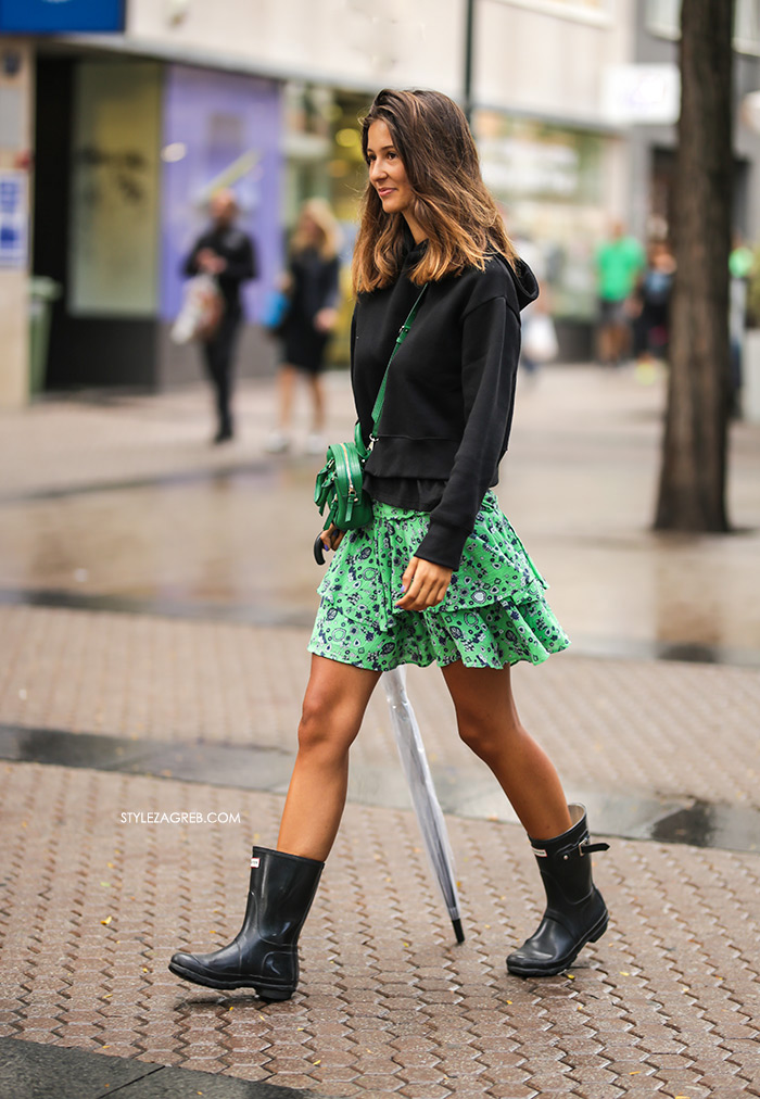 mini frill skirt Other Stories looks really lovely