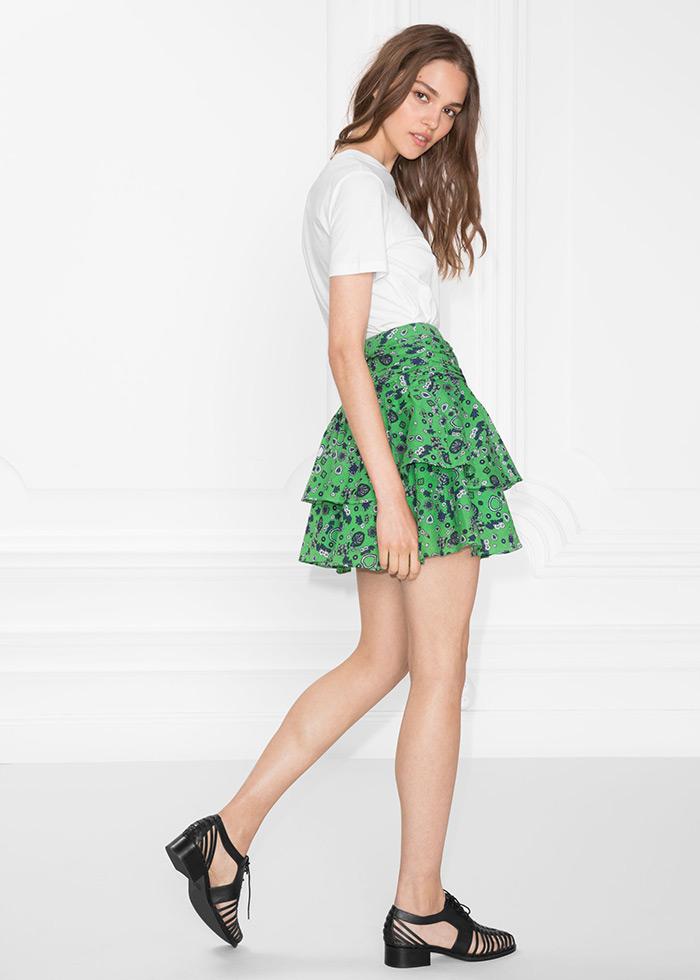 Flirtacious frill skirt & Other Stories