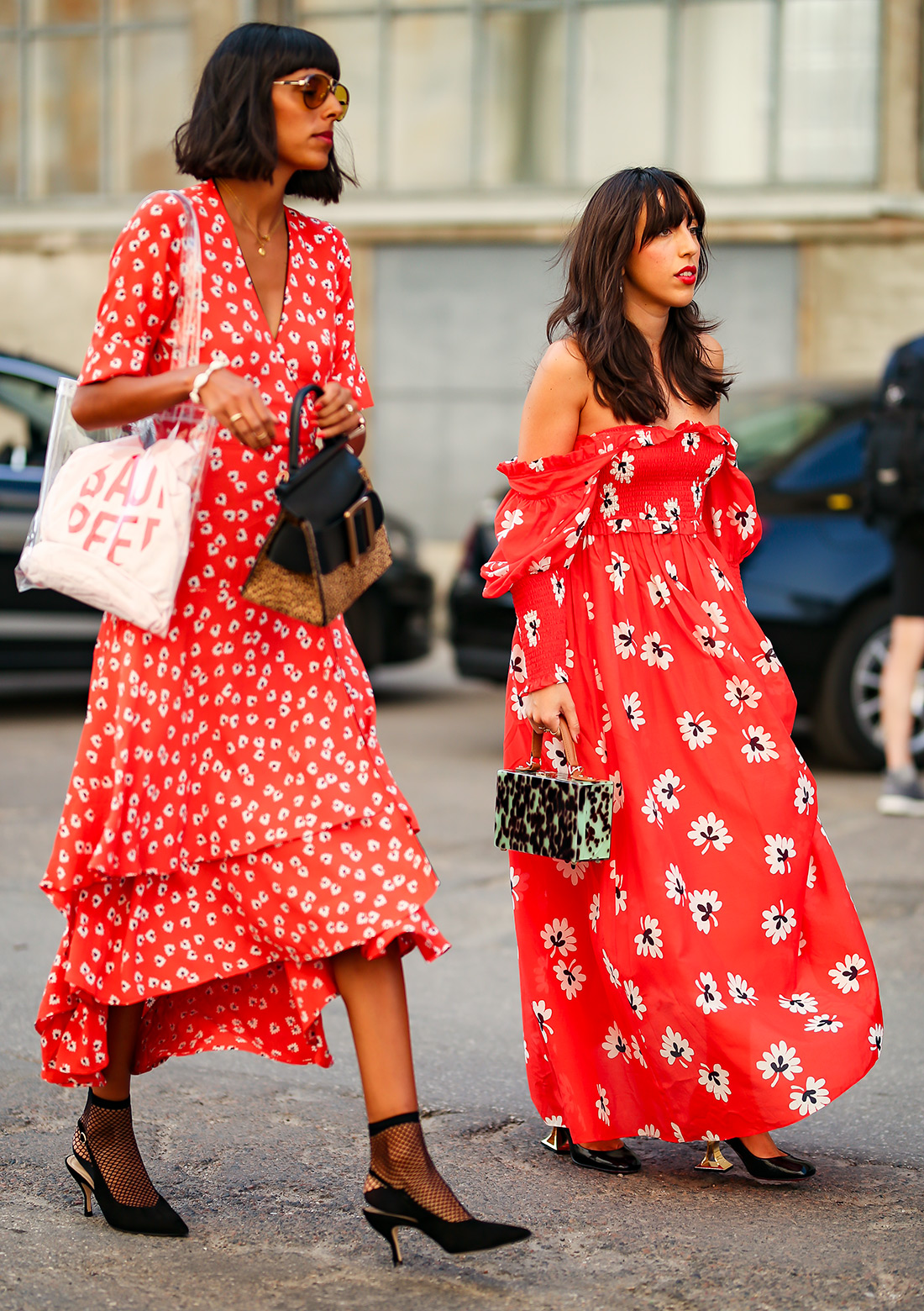 best floral dresses fashion spring summer season special occasion dresses copenhagen fashion week stylish pretty fashion girls