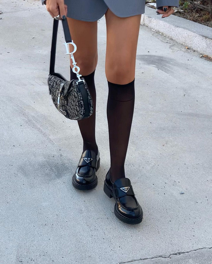 Chunky Loafers are Taking Over the Street Style